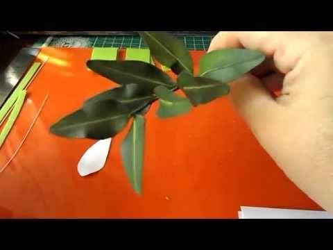 Видео мастер-класс: как изготовить зелень фисташки из зефирного фоамирана…