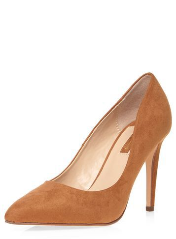 Tan 'Emily' high court shoes