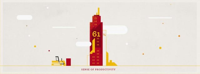 Backed by data from a recent Nielson study which probed people's motivations for work, we set out to highlight some of the keystone moments from the survey.   Creative Director: Colin Trenter Design: Yuki Yamada Animation: Stan Cameron, Colin Trenter, Chris Anderson Executive Producer: TJ Kearney
