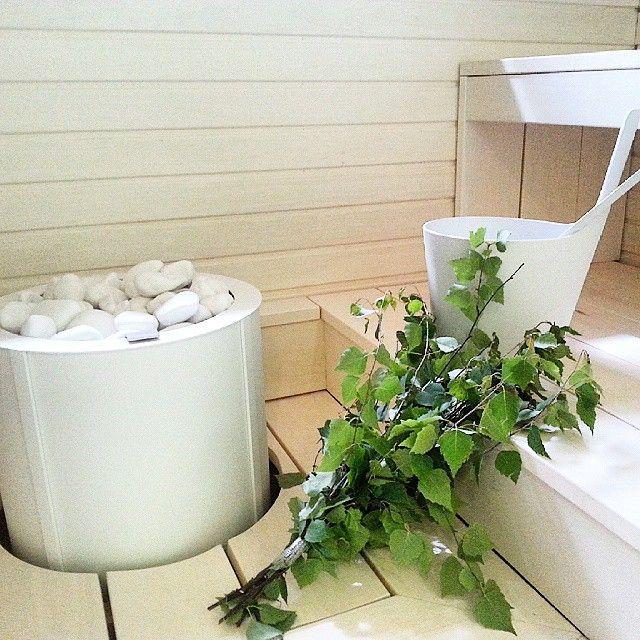 Tulikivi Sumu sauna heater & Midsummer sauna!
