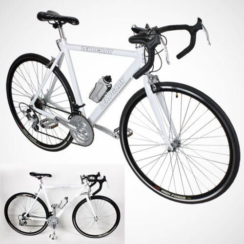 New 54cm Aluminum Road Bike Racing Bicycle 21 Speed Shimano - White Color http://coolbike.us/product/new-54cm-aluminum-road-bike-racing-bicycle-21-speed-shimano-white-color/