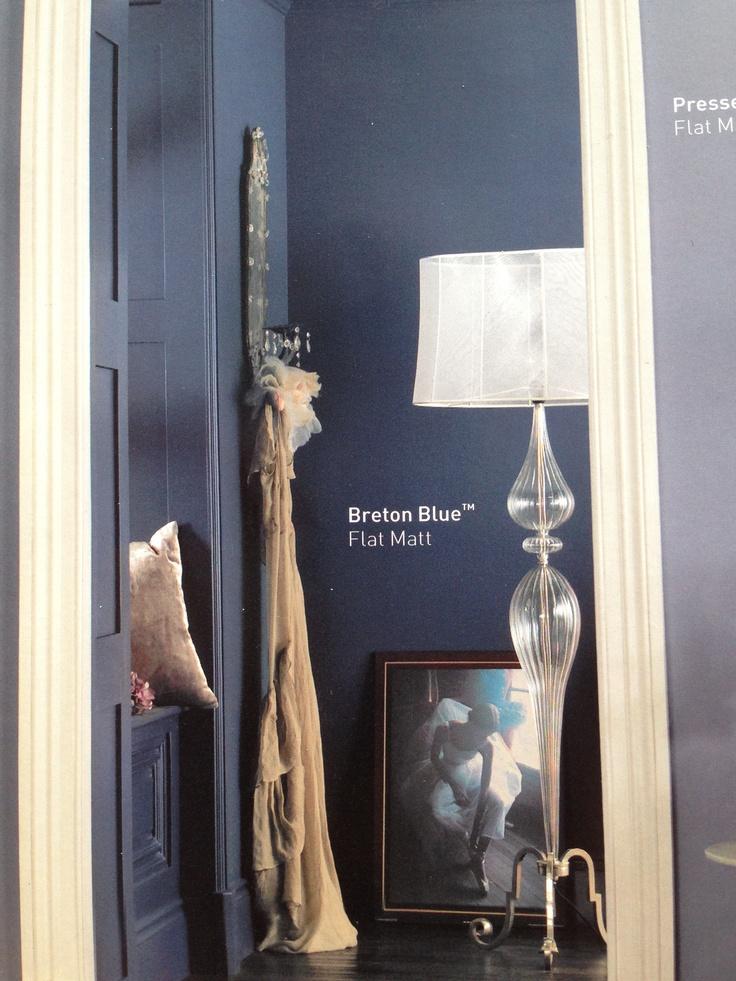 Breton Blue Bathroom Paint