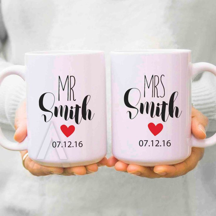 Couple Gifts Wedding For Couples His And Hers Mugs Anniversary