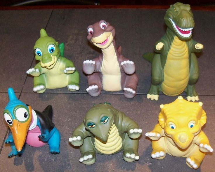 Land Before Time Toys : Us used in toys hobbies tv movie character