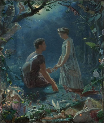 John Simmons  Hermia & Lysander — A Mid Summer Night's Dream