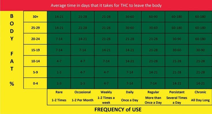 THC-Detox-Times