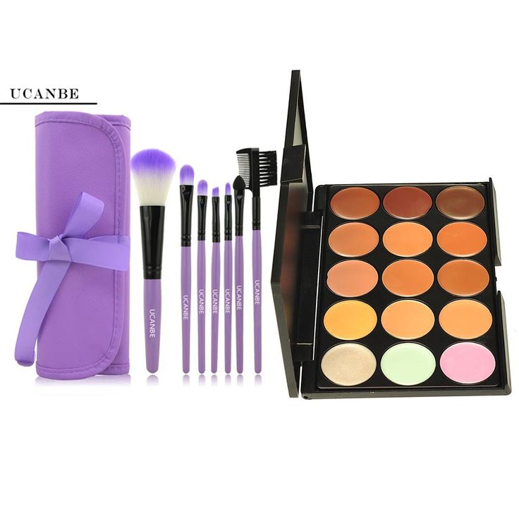 15 Color Camouflage Concealer Contour Palette Contouring Cream & 7pcs Makeup Foundation Brush Set Toiletry Case Facial Face #>=#>=#>=#>=#> Click on the pin to check out discount price, color, size, shipping, etc. Save and like it!