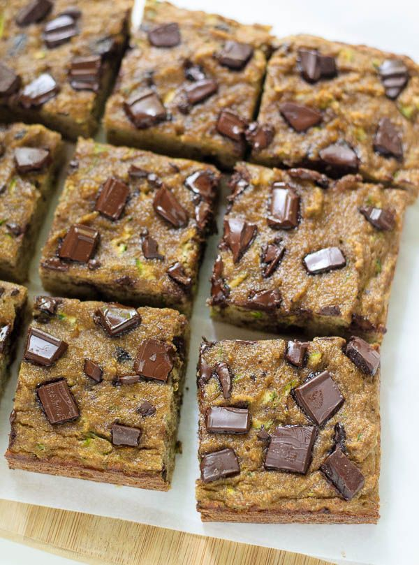 Paleo Zucchini Bread with Chocolate Chips. Naturally sweetened and super moist.