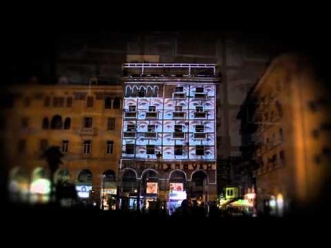 Visualized urban spaces - Aristotelous Square - YouTube