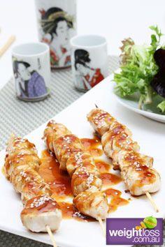 Chicken Teriyaki Skewers