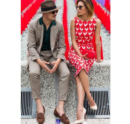 Moda męska na Men's Fashion Week wiosna-lato 2016, Florencja, men's streetstyle