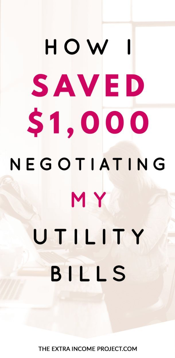 Learn how I saved $1,000 negotiating my utility bills. If you are looking for budgeting tips or frugal living tips on how to cut household expenses this article will show you how you can save money at home.
