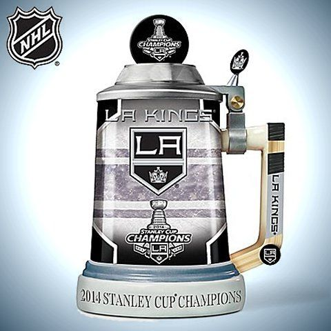 Los Angeles Kings 2014 Stanley Cup Champions Stein