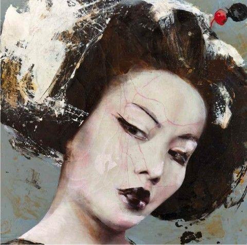 Lita Cabellut – Dried Tear @ Opera Gallery (Singapore) | Ozarts Etc