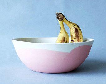 Ceramic Bowl Set Pasta Bowl Serving Bowl by SCULPTUREinDESIGN