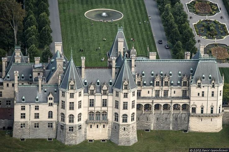 the back side of Biltmore... the part you hardly ever see... lol