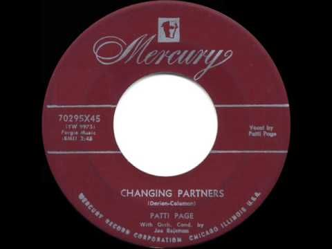 ▶ 1954 HITS ARCHIVE: Changing Partners - Patti Page (her original version) - YouTube