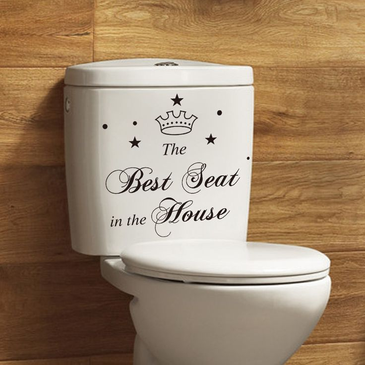 Various Models Funny Toilet Sticker   Free Worldwide Shipping!  Only $2.79    Order from: www.happycozyhome.com