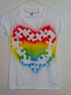 Spray paint shirts! on Pinterest | Sprays, Fabric Spray Paint and ...