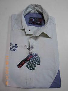 New Mens Luxury Stylish ZEMONZAA Branded Pista Coloured Slim Fit Casual Shirt
