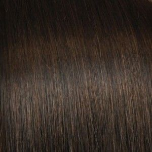 #2 dar brown color, natural clip-in hair extensions shop here: www.hairself.pl