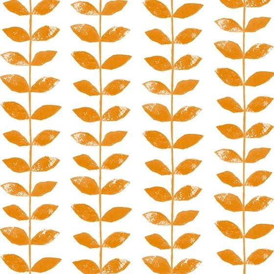 Beanstalk Orange Roller Blind