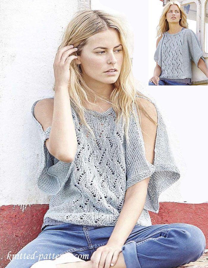 Knitting Summer Blouses : Best summer knits images on pinterest knitting