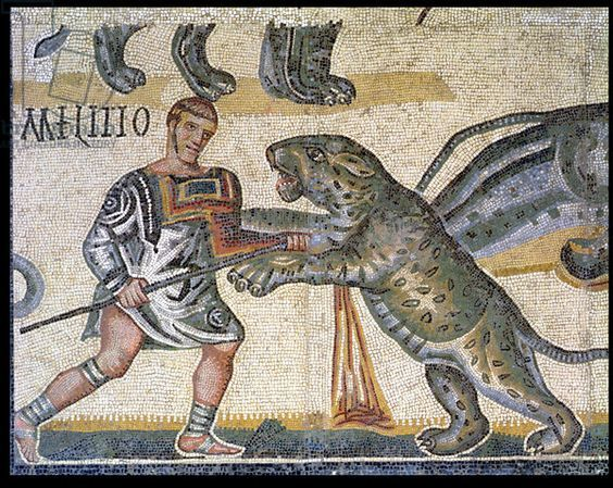 the rise of gladiatorial combat in the roman empire Shows were also given in other towns of the roman empire, as can be seen from   various classes of gladiators, distinguished by their arms or modes of fighting   gladiators acting on their own initiative, as in the rising led by spartacus in.