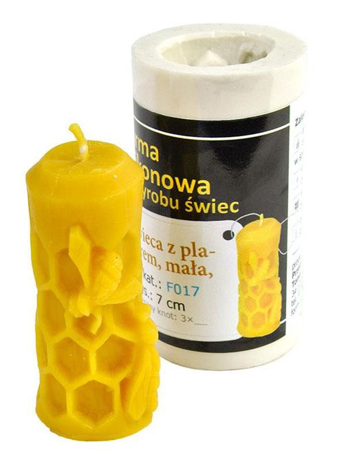 Small Honeycomb Candle Mold