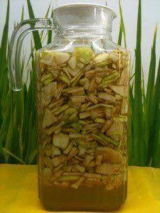 Ako si vyrobiť jednoducho doma jablčný ocot (nepoužívať kovové predmety) 1 kg neolúpaných umytých jabĺk postrúhajte na strúhadle, alebo nakrájajte keramickým nožom. Jablká vložte do sklenenej nádoby, prilejte 2 l studenej vody, premiešajte a prikryte tanierikom aby sa dnu neodstali vínne mušky, alebo nečistoty. Počas desiatich dní zmes miešajte drevenou varechou, potom preceďte cez gázu. Šťavu nalejete späť do pohára a ešte 20 dní stáť, už bez miešania. . Potom ocot nalejte do fliaš a…
