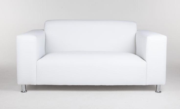 White double seat lounge