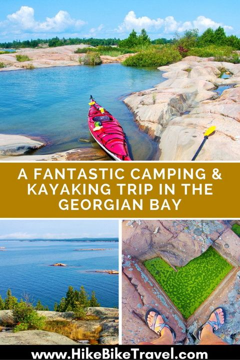 A Fantastic Kayaking and Camping Trip on the Georgian Bay, Ontario