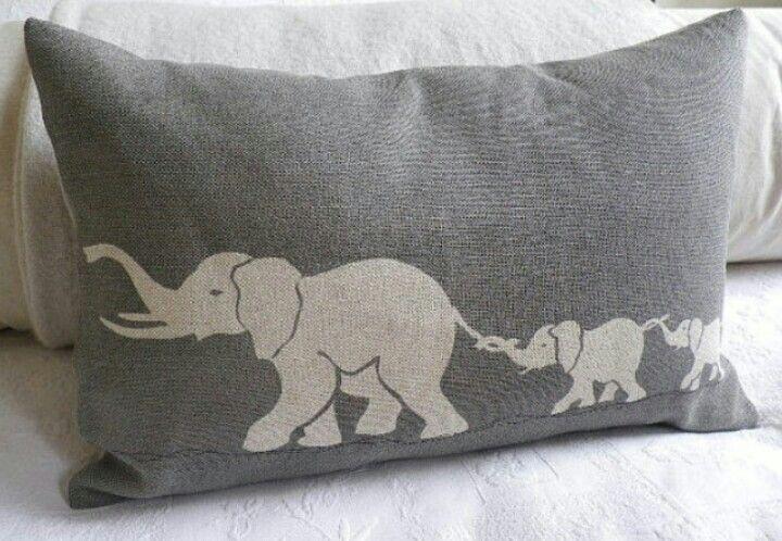 Elephant pillow!