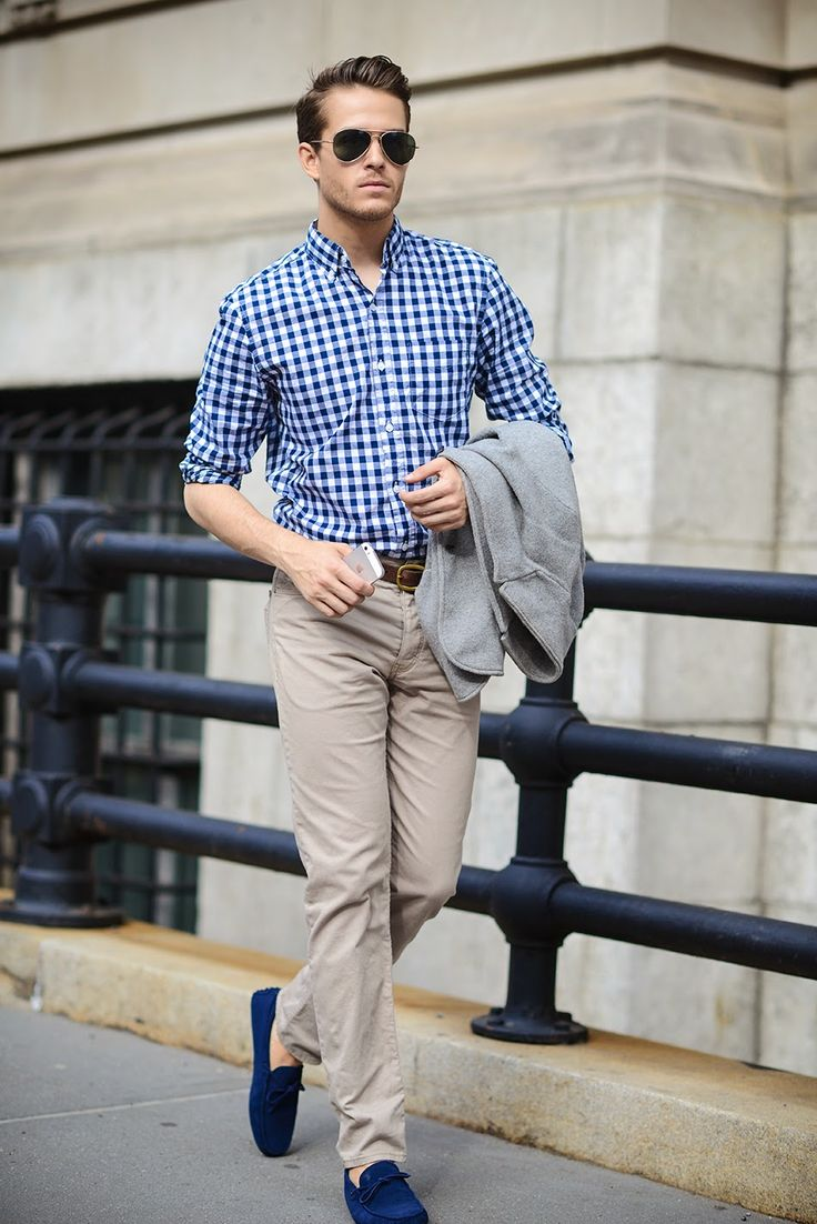 Johnston & Murphy shirt | H&M trousers | Tods shoes ...