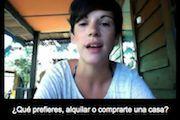 """""""Spanish listening"""": una página con más de 300 vídeos cortos. Hablantes de diferentes países hablan sobre los temas más diversos. Con el texto, explicaciones (en inglés) y tests de comprensión. Muy recomendable para niveles Básico 2, Intermedio 1 e Interm"""
