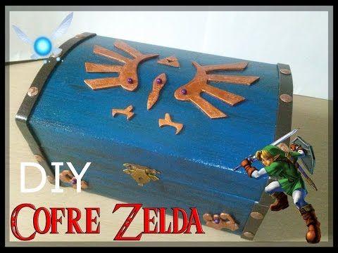 DIY Cofre Zelda - YouTube