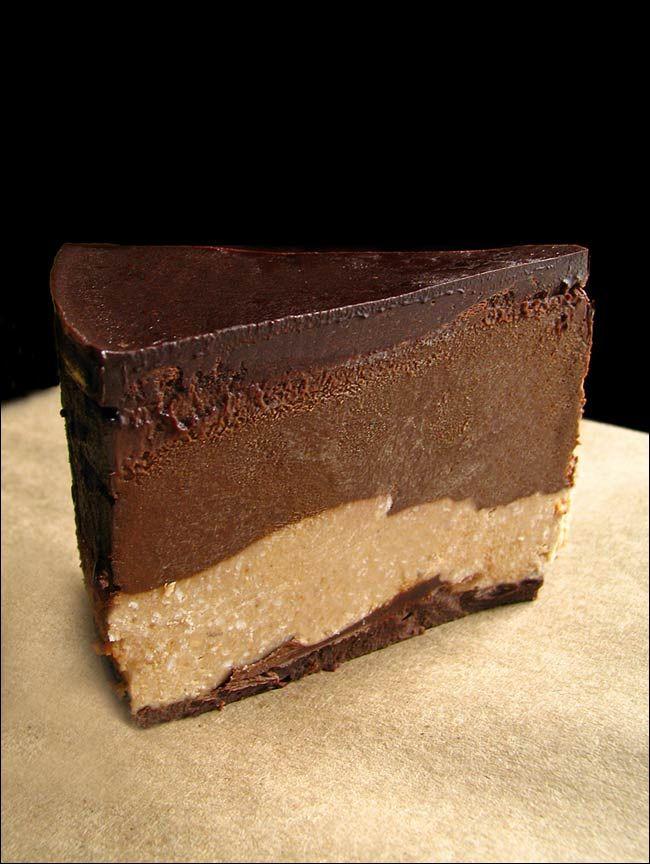 Gâteau chocolat noisettes cru végétalien chocolate and haxelnuts cake #raw #vegan