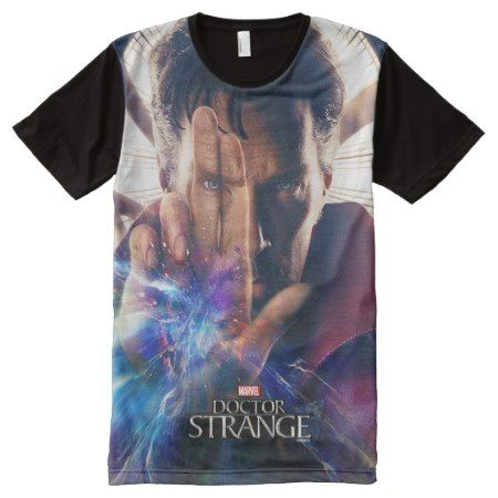 Doctor Strange Mystic Hand Movie Poster All-Over-Print T-Shirt - tap, personalize, buy right now!