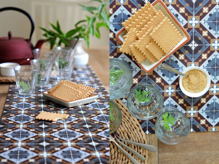 Elegant vinyl table runners with Beija Flor's signature geometric designs. Our…