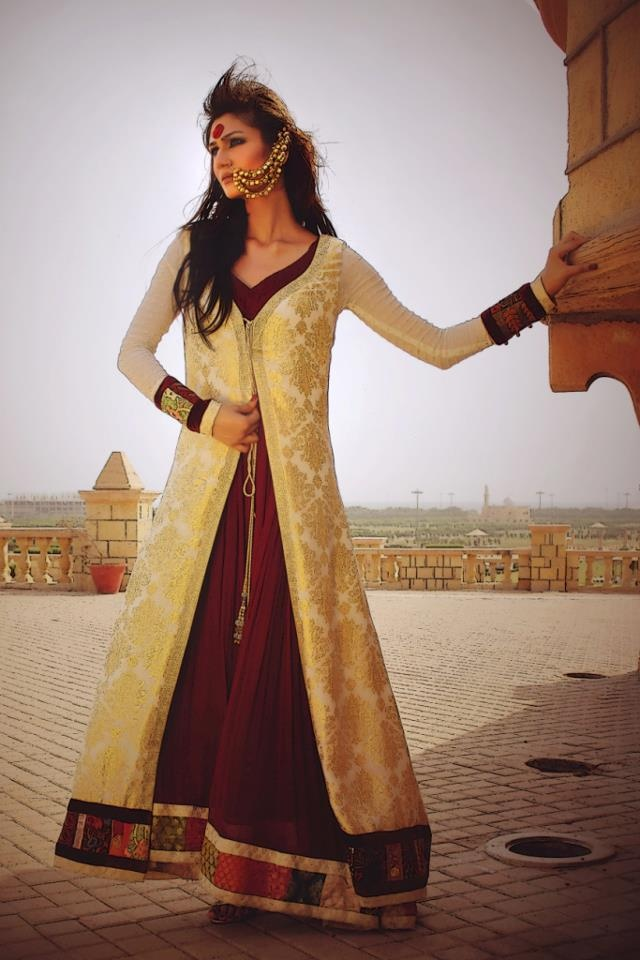 Tabassum Mughal 2013 Maharani Bridal Dress 2