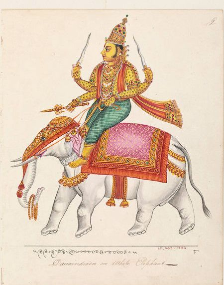 L'occhio rappresenta evidentemente i genitali femminili, come risulta nel mito di Indra, il quale per via della sua lascivia dovette portare diffuse su tutto il corpo le immagini della yoni (vulva), ma che fu graziato dagli dèi che mutarono in occhi le immagini disonoranti della yoni (similitudine di forma) (Jung)