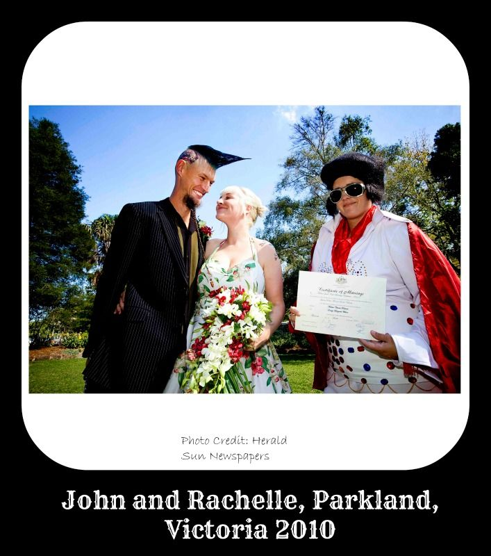 Real Weddings - Melissa Jacob, Civil Marriage Celebrant - www.theceremonystore.com