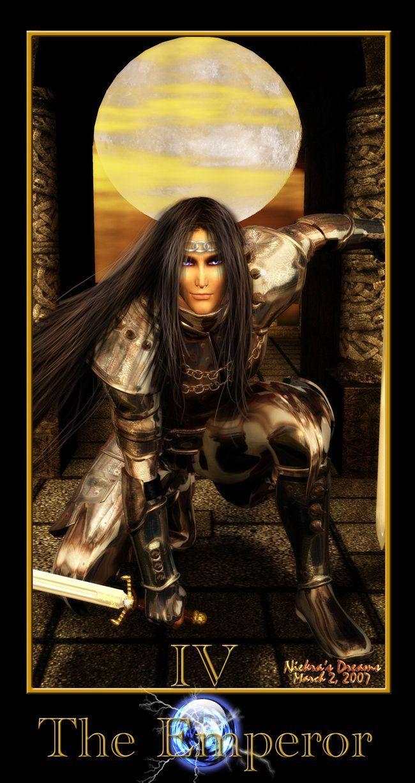 Tarot Series: The Emperor by Niekra on deviantART