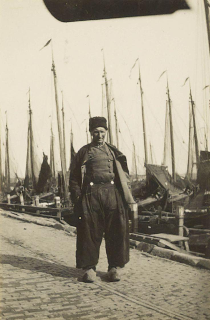 Volendammer visser 1917 #NoordHolland #Volendam