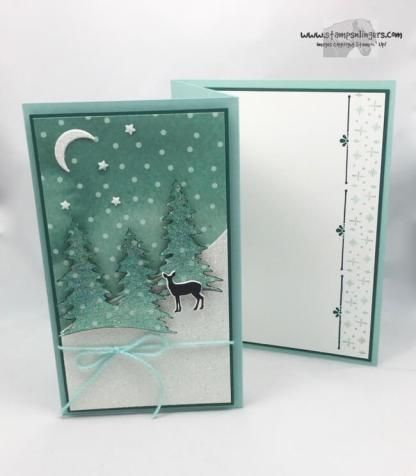 Stampin' Up! Z-Fold Snowy Carols of Christmas   Stamps – n - Lingers