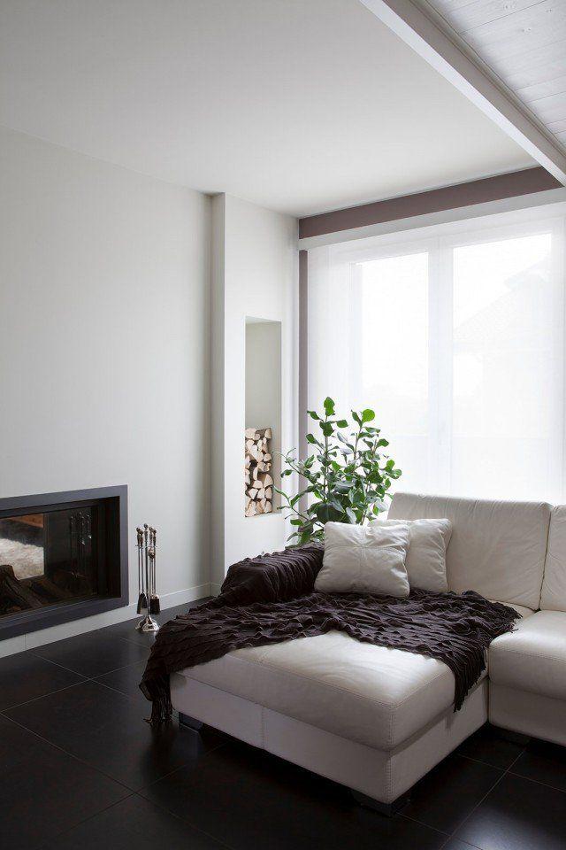 Bianco, grigio, nero per la casa di gusto contemporaneo ...