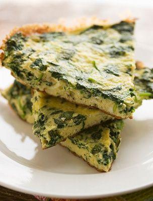 Spenótos frittata Gyors vacsora 500 kalória alatt   femina.hu