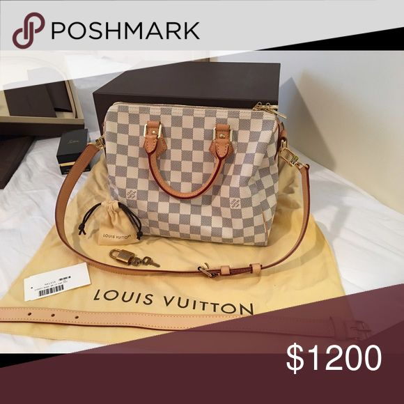 Authentic louis vuition bag 99% new ! It s all new , come with dust bag, box, card and bill ! Louis Vuitton Bags Crossbody Bags