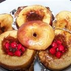 baked apples with red hots. Always reminds me of Christmas.