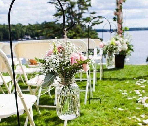 Mason Jar Wedding Reception Ideas: 17 Best Images About Lauakaunistused On Pinterest